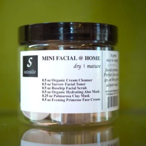 mini facial dry matire