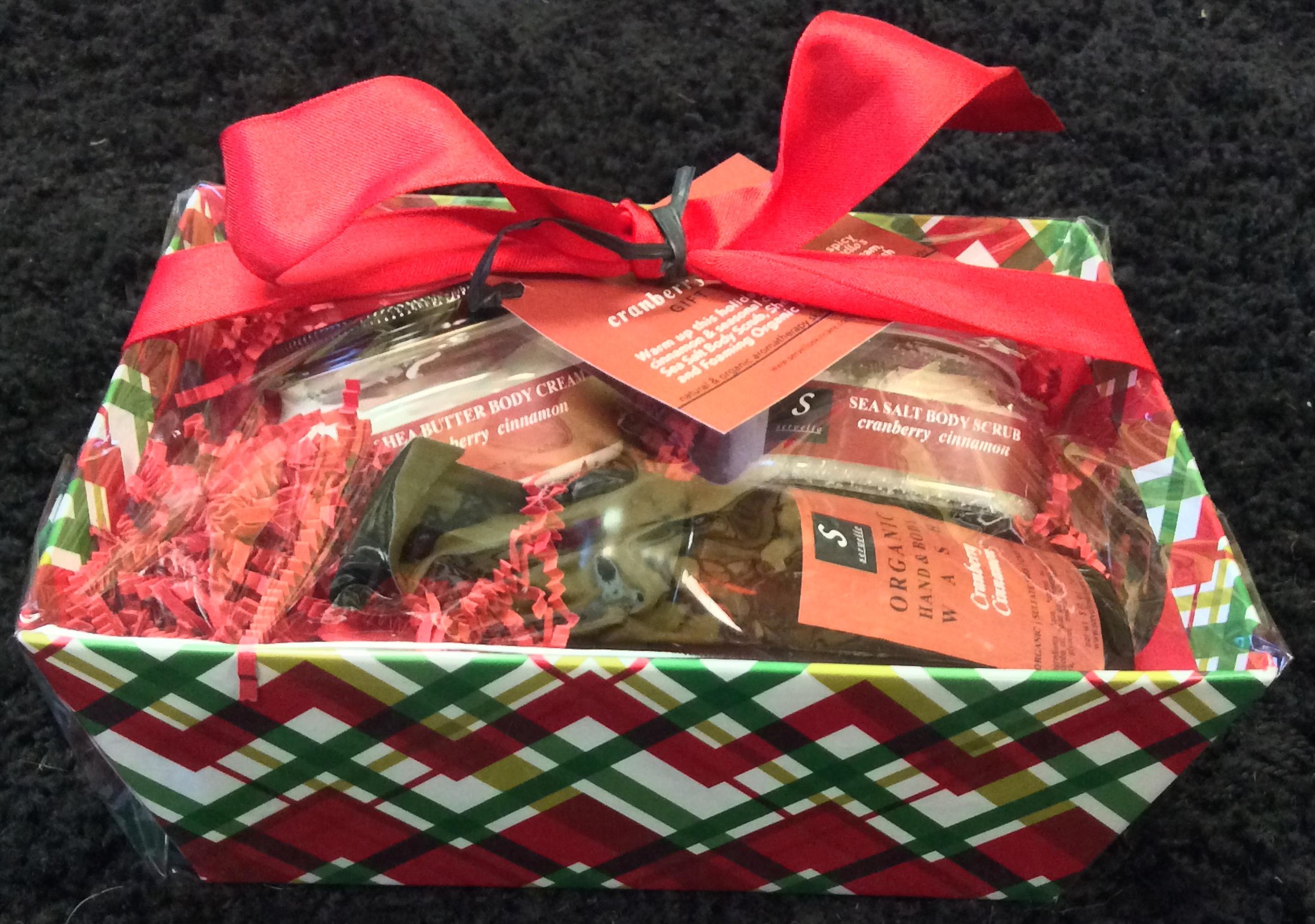 Cranberry Cinnamon Gift Set
